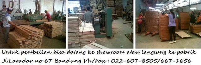 Pabrik pengolahan lantai kayu