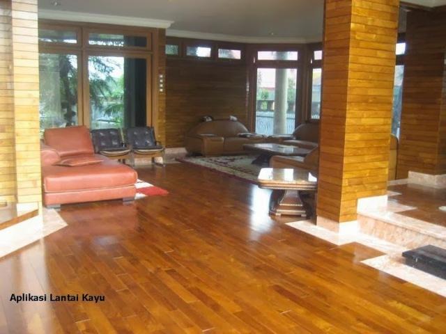 lantai kayu jati miniflooring kw1
