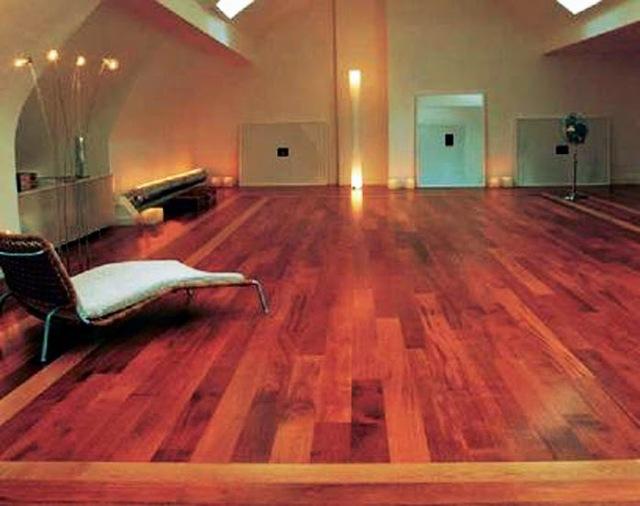 Lantai kayu Merbau untuk interior