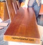 Papan pijakan anak tangga kayu Jati tanpa sambung