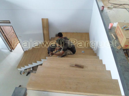 papan tangga kayu jati yogjakarta dan jakarta