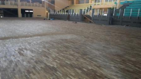 pemasang lantai kayu gor tambun beka