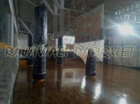 lantai kayu sarana olahraga