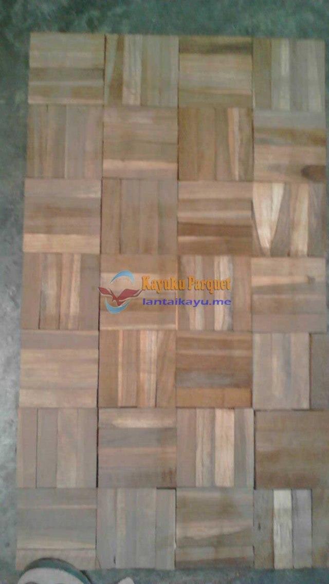 lantai kayu harga mozaik jati
