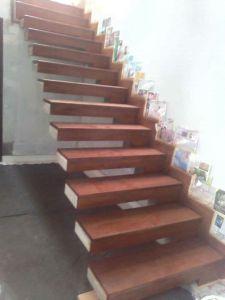 merbau papan tangga