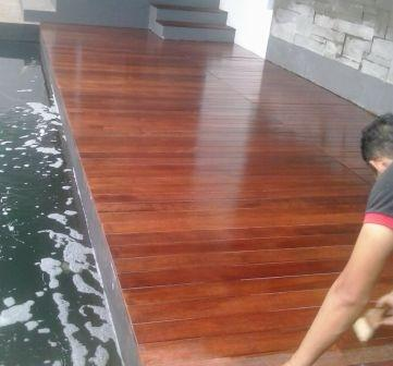 jual lantai kayu cilegon