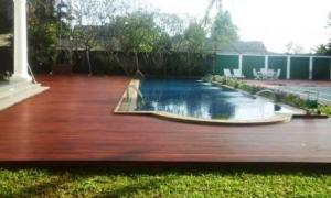 decking kayu balikpapan