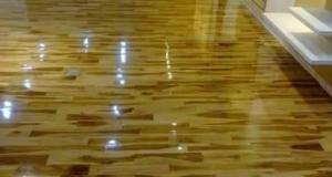 lantai kayu balikpapan jual