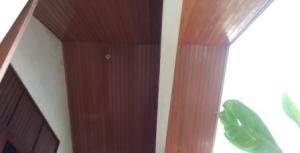 plafon kayu keruing bandung
