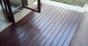 decking kayu bukittinggi