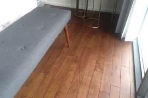lantai kayu terpasang